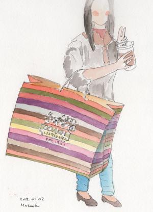 ルン・ルンを紙袋に入れて・・・@taiwan