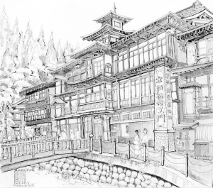銀山温泉 加賀屋