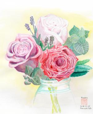 新春の花束