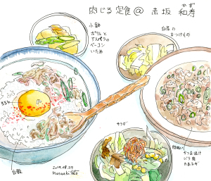 肉汁定食@和寿