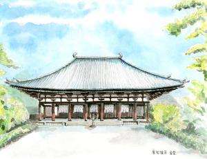 奈良への想い・・・唐招提寺金堂