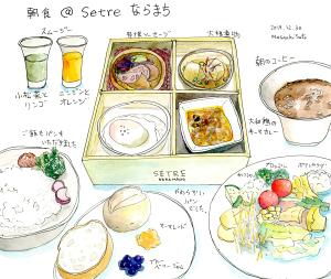 朝食@セトレならまち
