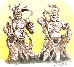 東大寺 風神雷神